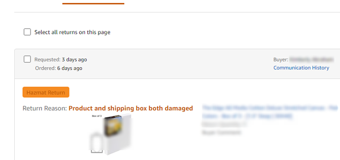 Customer Tried To Return But Was Told Item Not Eligible For Return General Selling Questions Amazon Seller Forums