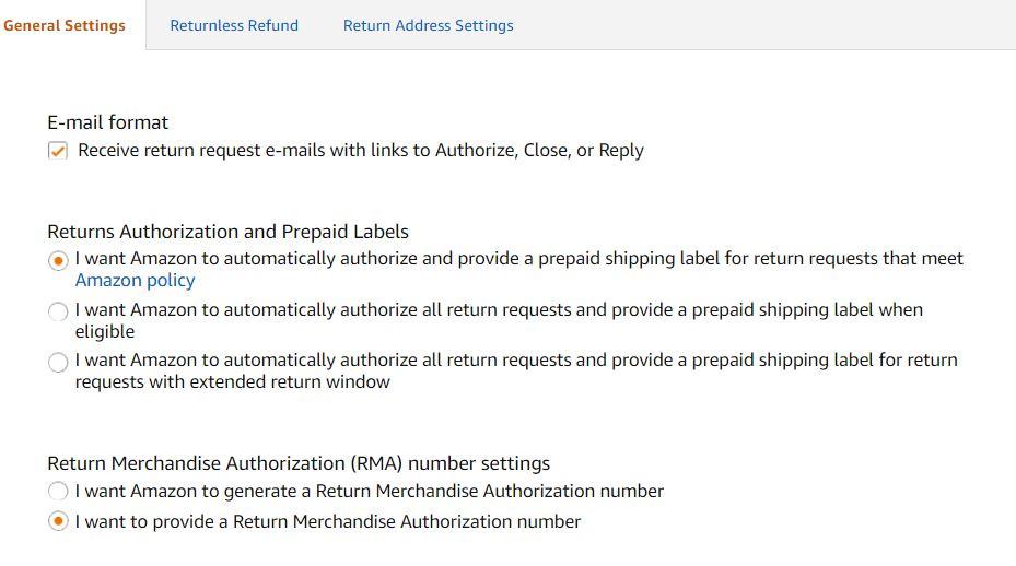 Amazon Automatically Authorized a Return over 30-day Return