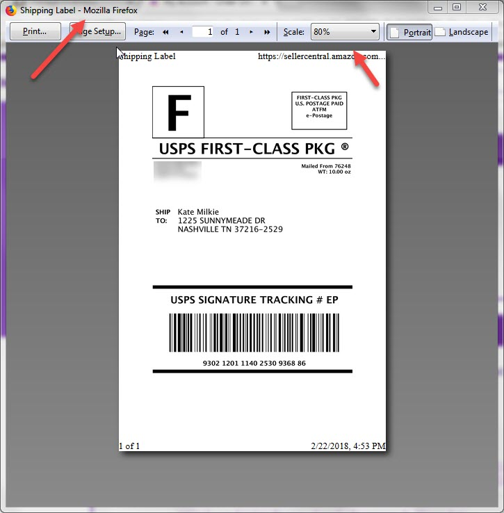Amazon Shipping Label on Firefox. 9c13b6390b0097841e03b0627757e5fa3dac59fd.jpg725x738