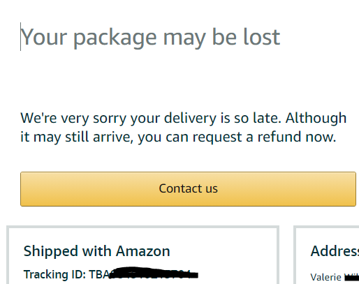 Does amazon always take a pictures of delivery
