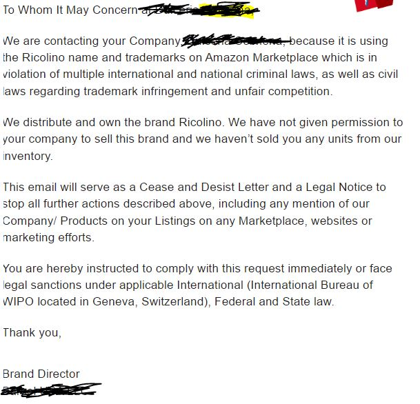 Trademark Cease And Desist Letter from d2bvhe78se1grn.cloudfront.net