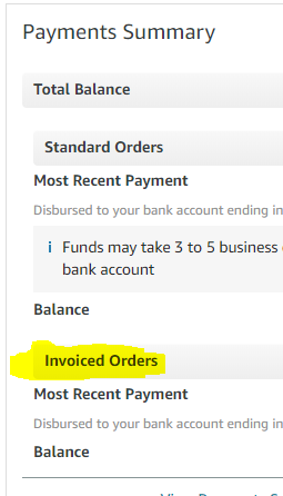 Delayed payment into my Amazon account? - Selling on Amazon - Amazon Seller  Forums
