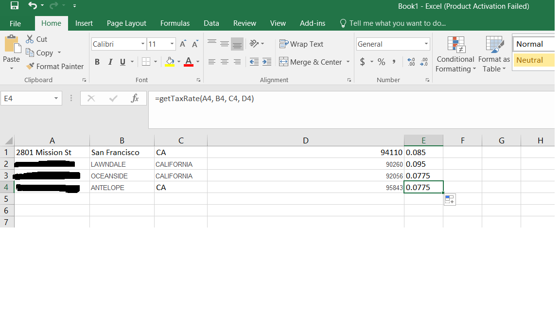 Trying to figure out how to file sales tax with CA correctly ...
